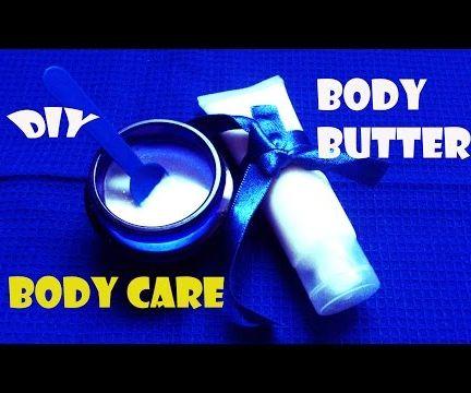 "How to Make  ""NOURISHING BODY LOTION & CREAM"""