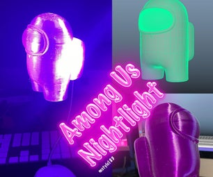 Astronaut Among Us Night / Task Light