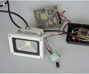 Exterior Motion Light Kit