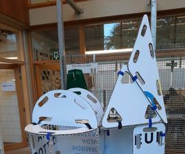 Modular Cardboard Creativity Boards