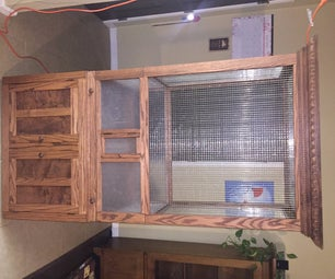 Christy's Display Cage and Cabinet