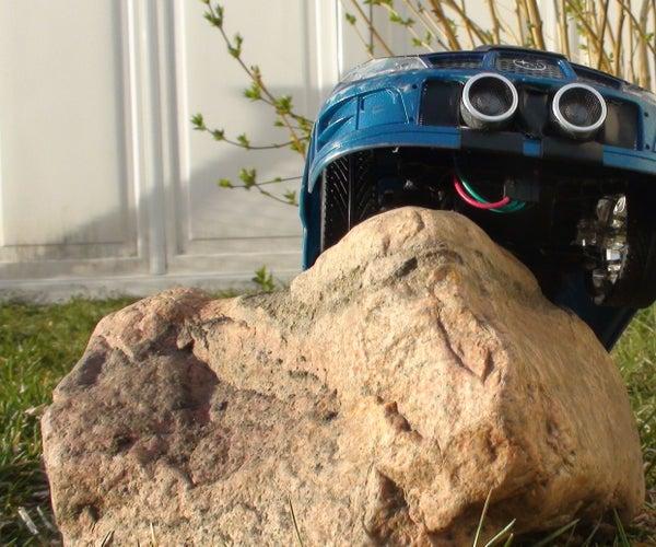 RC Car to Autonomous Arduino Robot