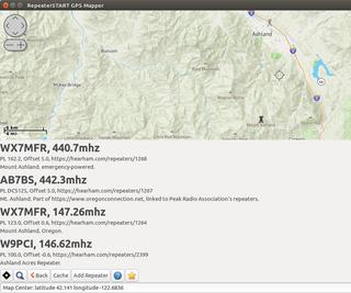 Repeater-START Ham Radio Repeater Mapping App