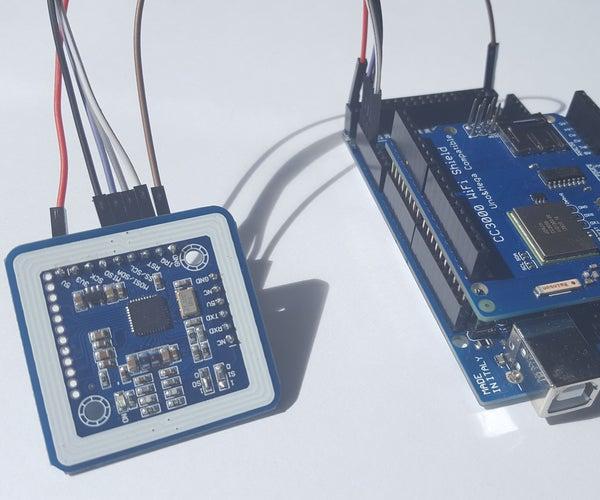 Arduino NFC WiFi Client