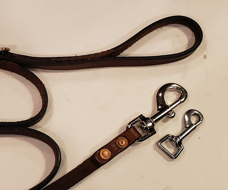 How to Replace the Clasp on a Leather Dog Leash