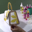 Fabric Painting Tutorial- Simple Tips to Painting a Purse