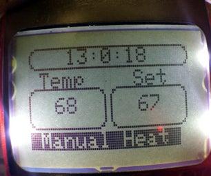 Arduino Programable Thermostat