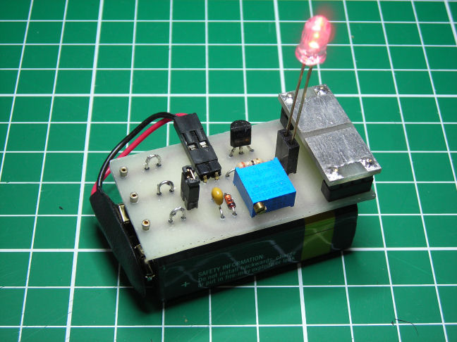 Current Regulated LED Tester