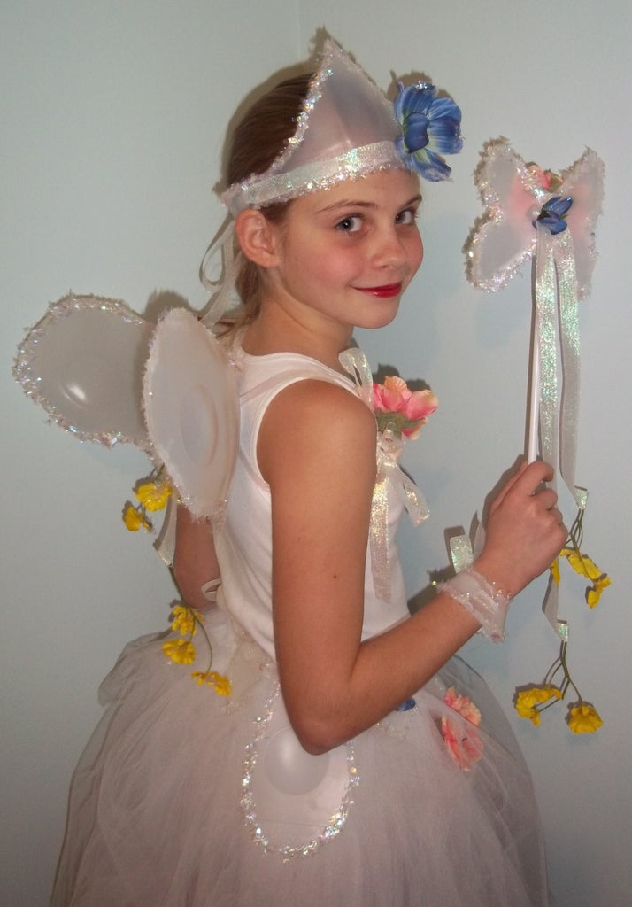 FAIRY COSTUME From Plastic Milk Jugs: Recycle Crafting