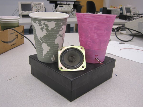 Interactive Cups