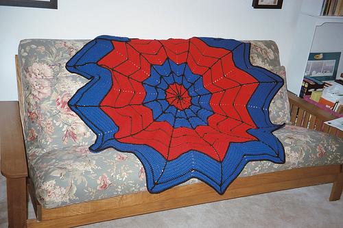 Spiderman Afghan