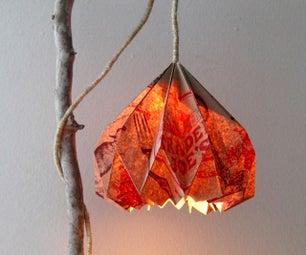 Grocery Bag Pendant Lamp