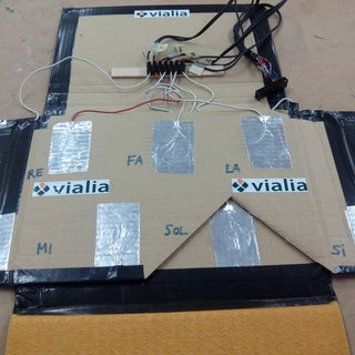 Capacitive-Touch Arduino Keyboard Piano