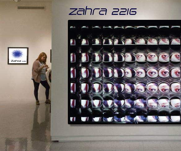 Fresnel Lens Sculpture for Video Projection Art