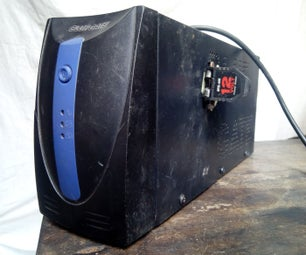 Emergency Cigar Lighter Socket Power Source(hacked Ups)