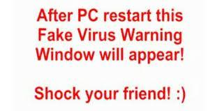[Prank] Fake Virus