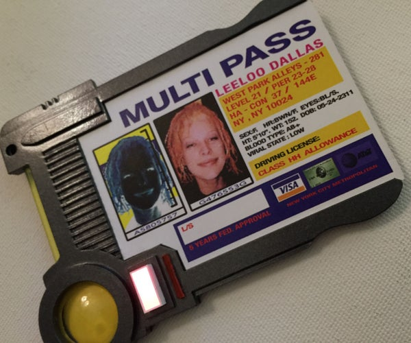 Multipass From the Fifth Element