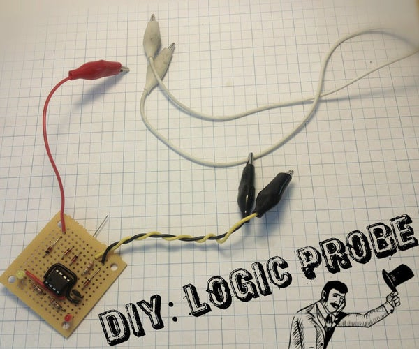 Build Your Own Logic Probe on the Cheap Using a 555 Timer!