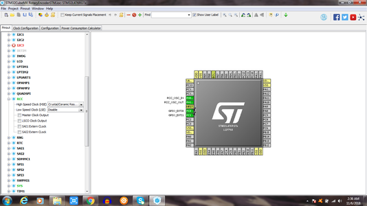 Make Necessary Selections in STM32cubemx According to Images Shown in This Tutorial
