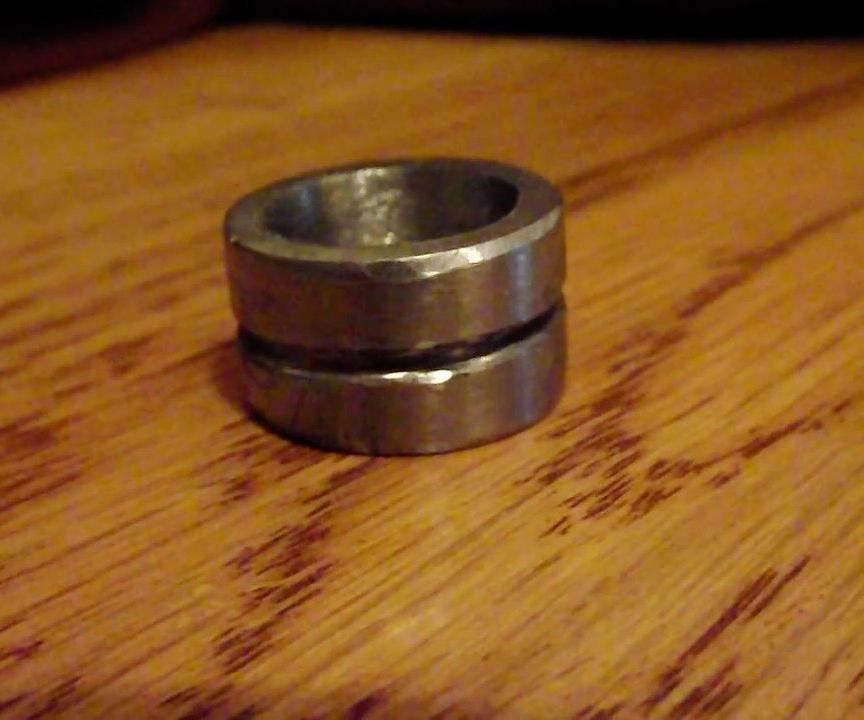 Making a Ring Blank From a Nut
