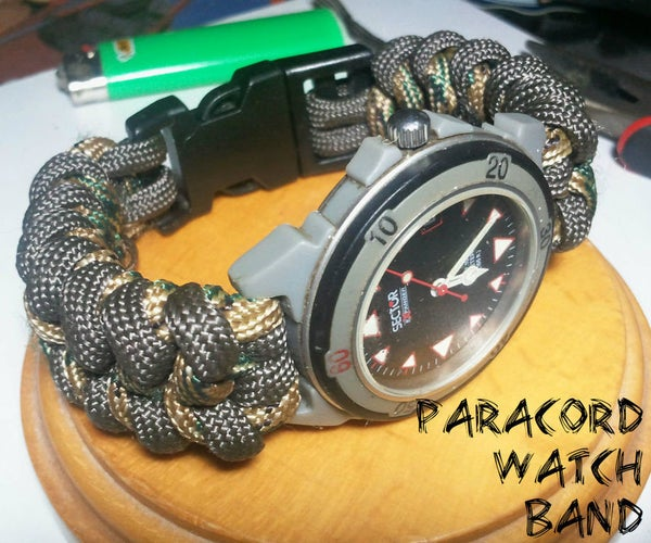 How to Create a Paracord Watch Band