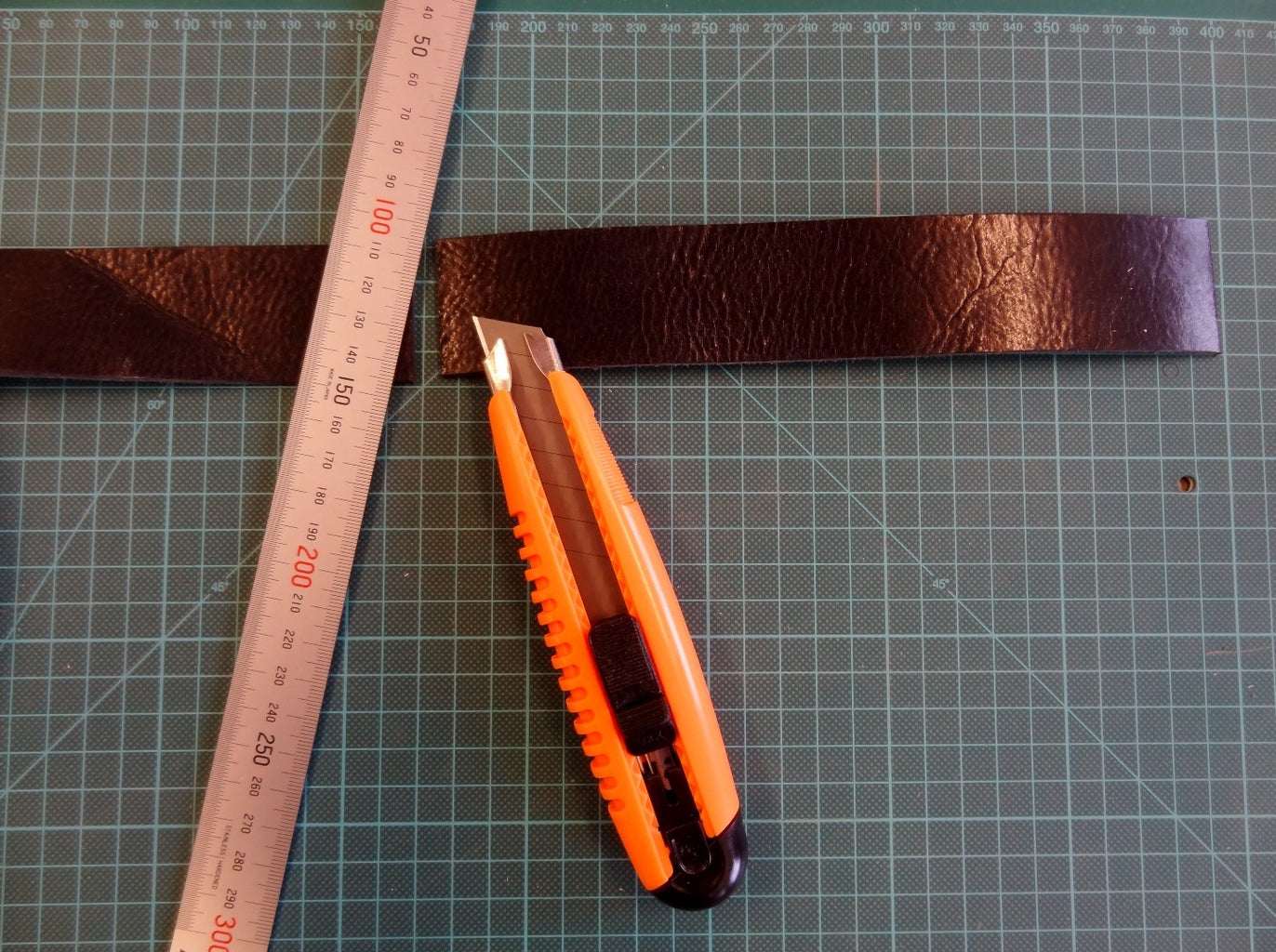 Cut the Leather