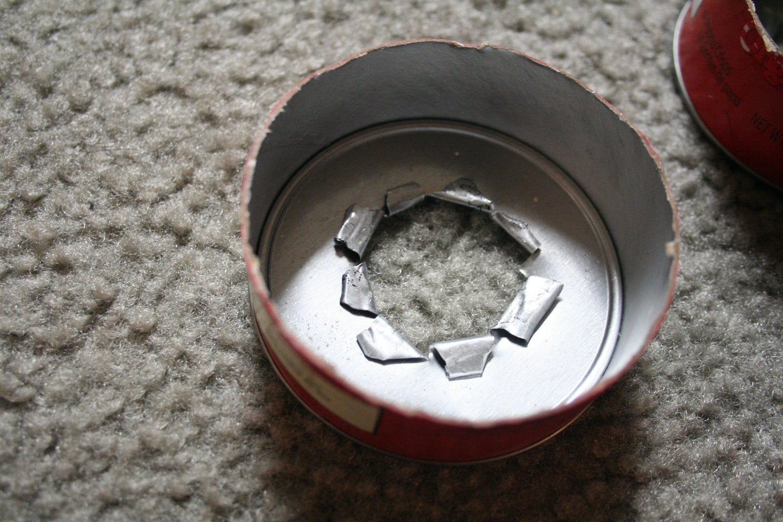 Cutting the Notches and the Can