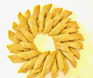 Tuna Parmesan Spritz Cat Cookies