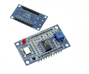 Cheap DDS Signal Generator Using ADS9851 and Arduino Nano