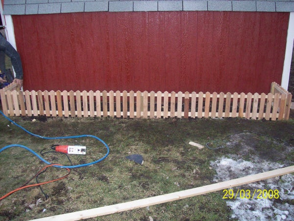 How to Make a Little Fence