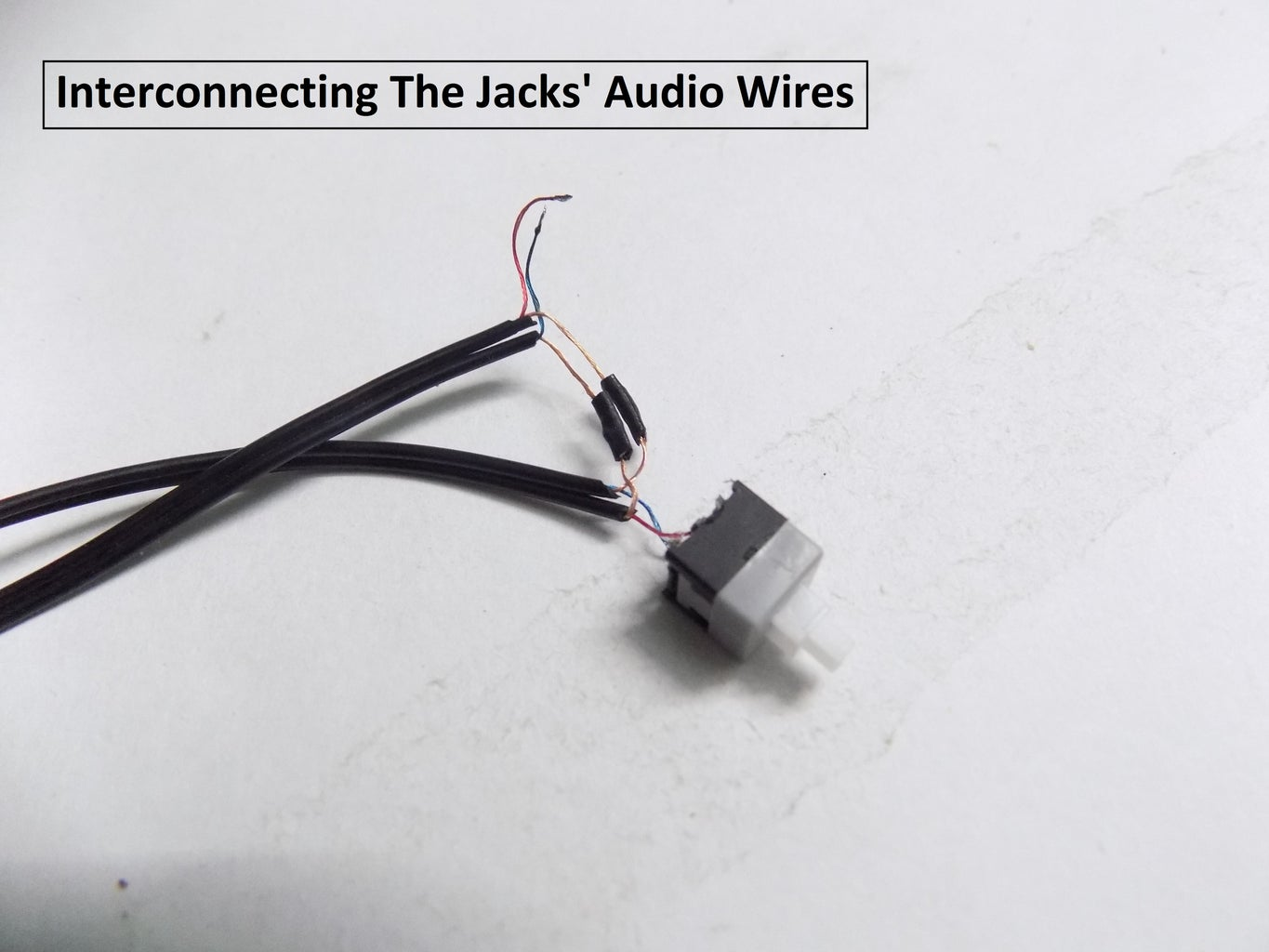 Connecting the Jacks With the Switch