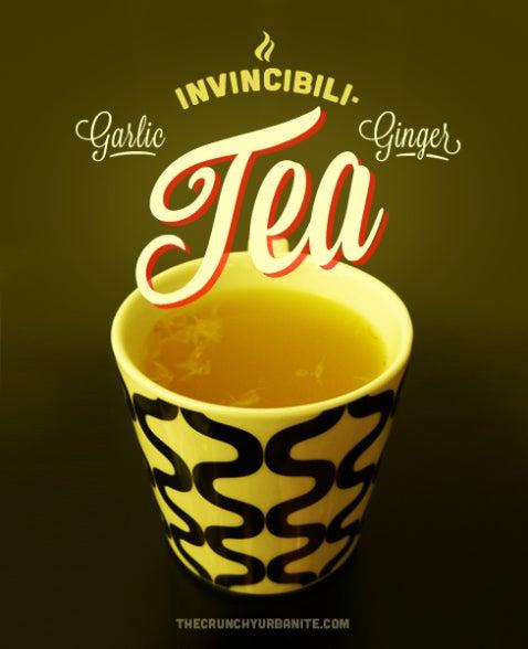 Garlic Ginger Invicibili-Tea