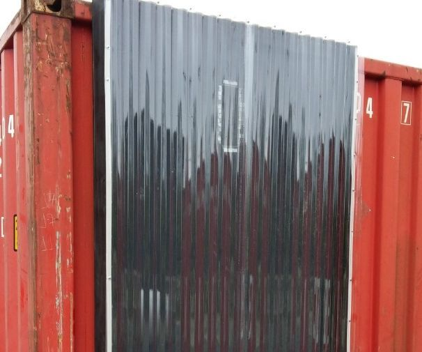 Solar Thermal Air Heater (on a Shipping Container)