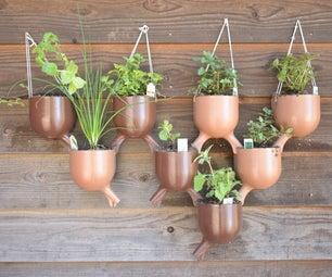 3D打印渡槽植物