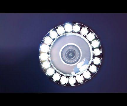 Make a Super-bright Video RING-LIGHT