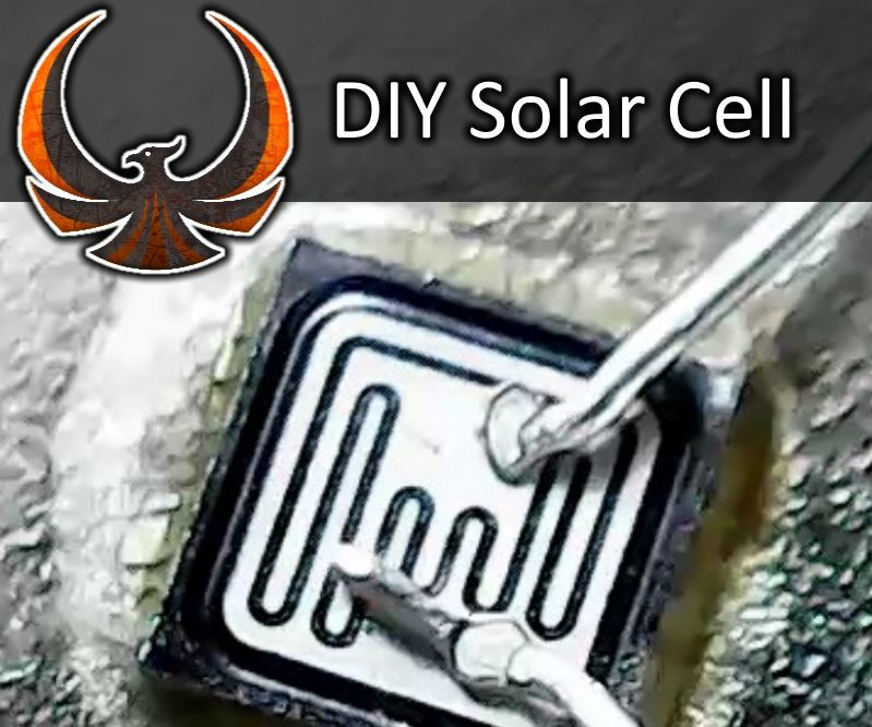 Make a Solar Cell From Scrap Electronics