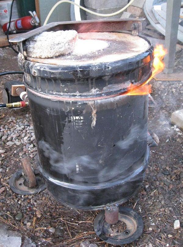 Easy Dual Fuel Furnace Burner