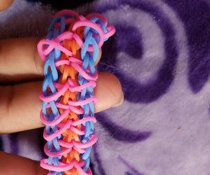 How to Make the Zippy Chain Bracelet on a Loom
