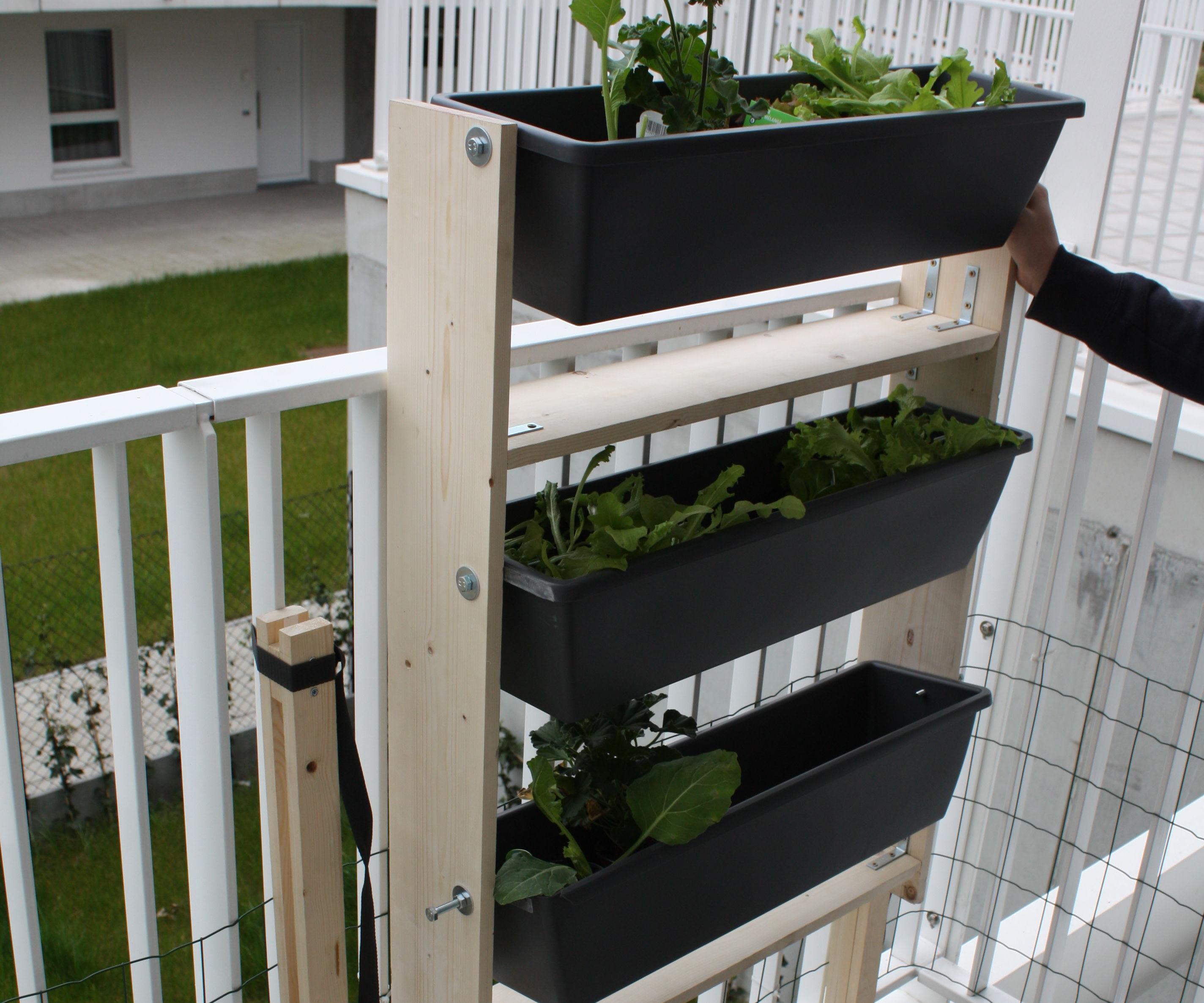 Space Efficient Gardening Rack