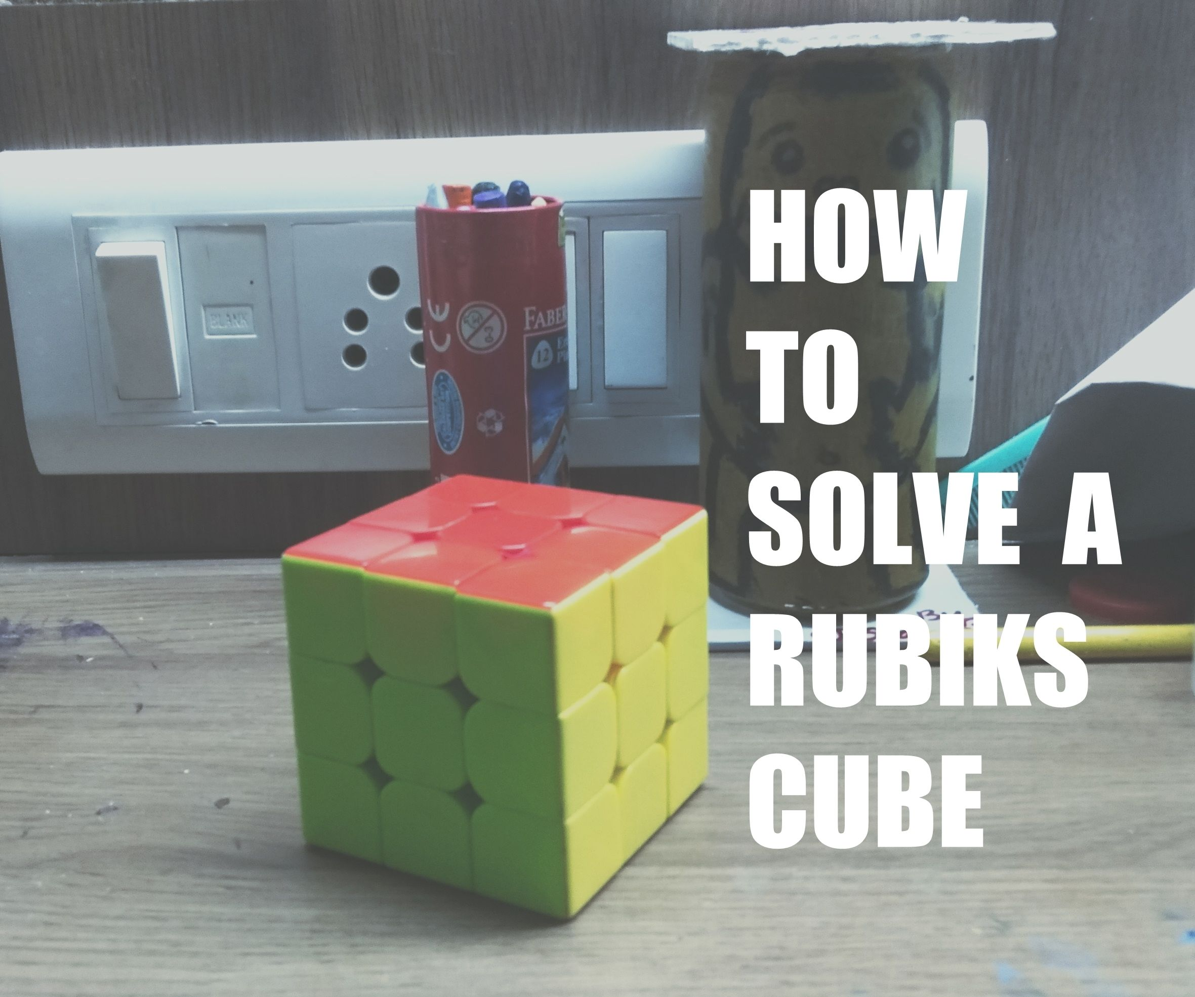 Solve a RUBIK'S CUBE! (The Easy Way)
