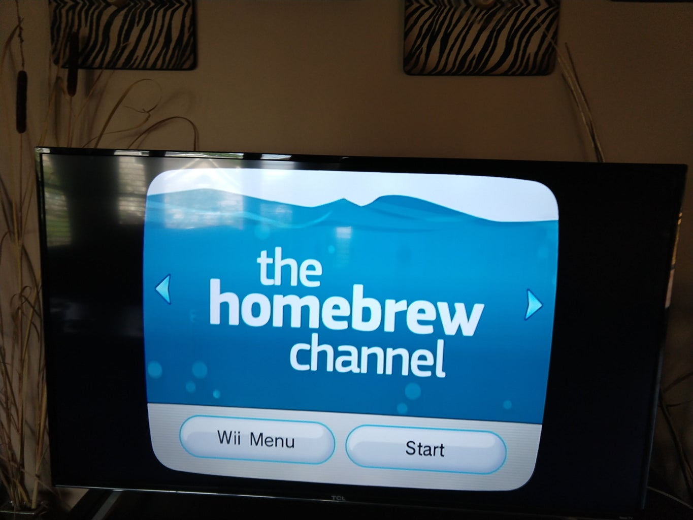 (For Homebrew Wii) Install WiiMC to Homebrew Channel and Open WiiMC