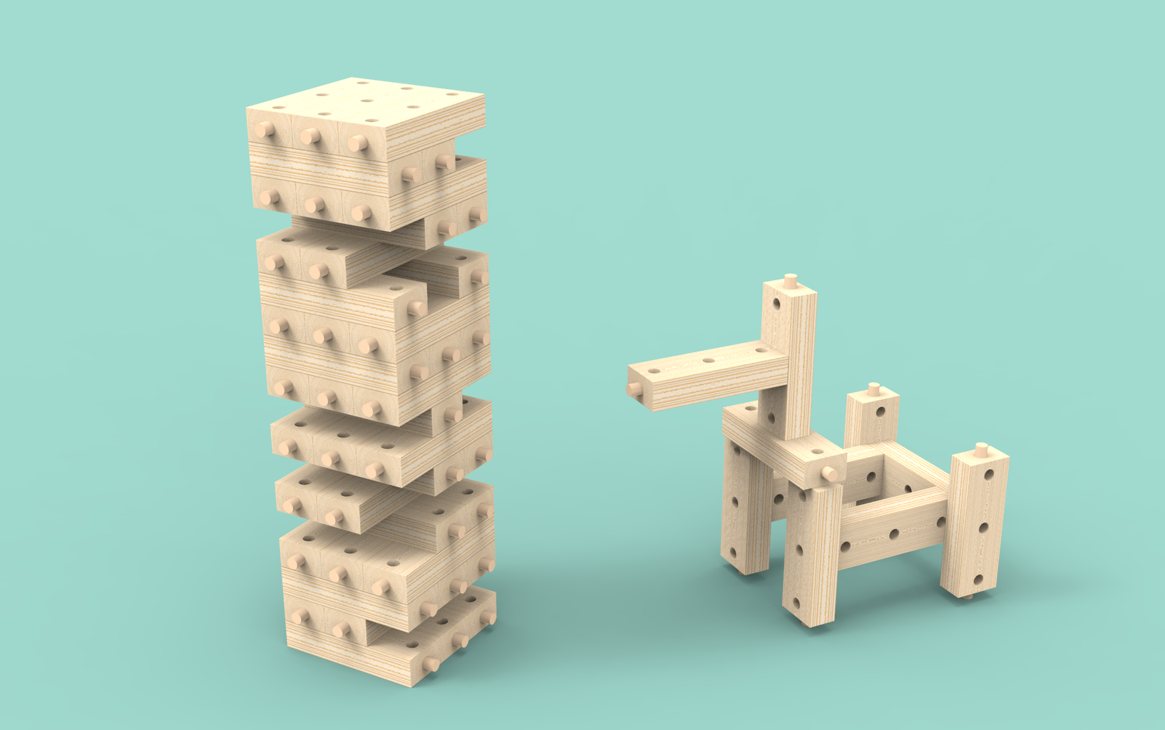 JoinGa: Play and Build