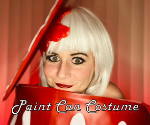 """Paint Can (or """"Paint Stripper"""") Costume"""