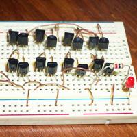 DIY CMOS RAM Memory
