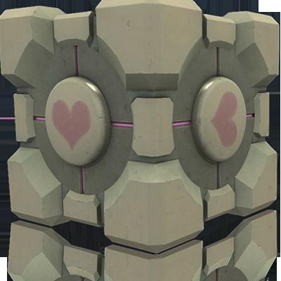 The Portal Companion Cube