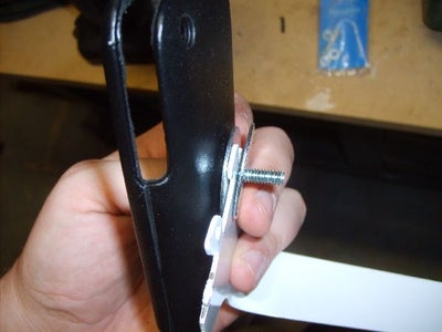 Bend the Bracket and Mount the Case