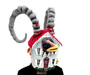 "Mask - ""Domesticated Ibex"""