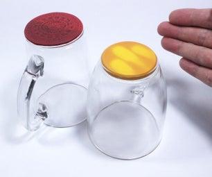 热色改变杯子 - 用Sugru制造(硅胶胶)