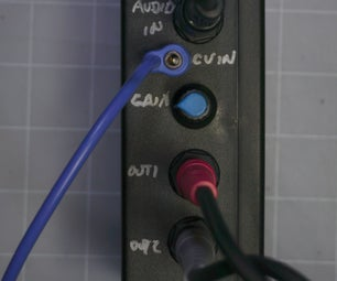 CV Controlled Mono to Stereo Module-Eurorack Format
