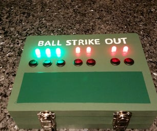 Children's LED Baseball Scoreboard Toy